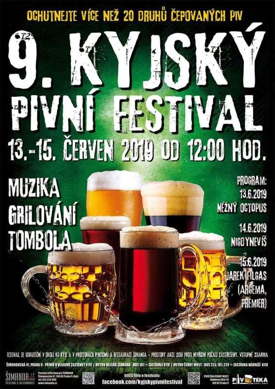 9. kyjský pivní festival